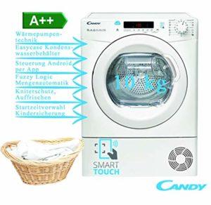 Candy CS H10A2DE-S Asciugatrice a pompa di calore